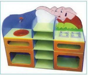Tủ bếp hình con voi  B405