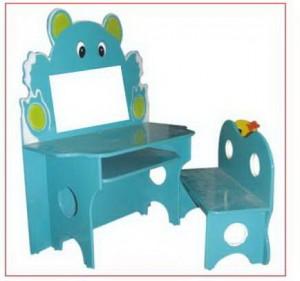 Bộ Bàn ghế Kidsmart hình gấu