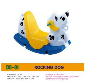 Bập bênh con chó đốm D205