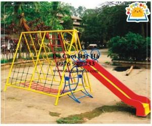 Thang leo thể dục đa năng hình cá heo A512