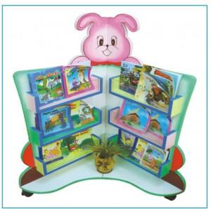 Giá góc thư viện hình con thỏ   B204
