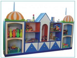 Tủ đồ chơi nhà ba tư  B146