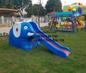 Cầu trượt con voi – A802