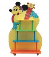 Giá Kệ để đồ chơi hình Mickey cây đàn  B153