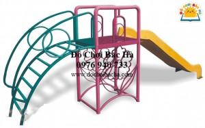 Thang leo Cầu Trượt bông hoa A520