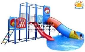 Nhà Chơi cầu trượt Bể Bơi A129