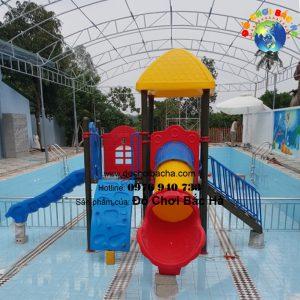 Cầu trượt bể bơi A1121