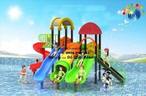 Cầu trượt bể bơi cho trẻ em số 2